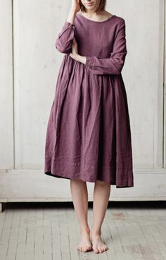 Handmade Linen Dress by SondeflorShop on Etsy