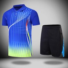 Badminton shirt Badminton T-shirt Maillot Training coupe jeu anniversaire enfants 17