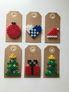 Til & fra kort jul Til & fra kort jul Til & fra kort jul Til & fra kort jul Christmas Perler Beads, Diy Christmas Ornaments, Christmas Art, Christmas Countdown, Christmas Decorations, Christmas Craft Projects, Spring Crafts For Kids, Newspaper Crafts, Christmas Makes