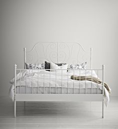 LEIRVIK - A bed fit for beauty sleep.