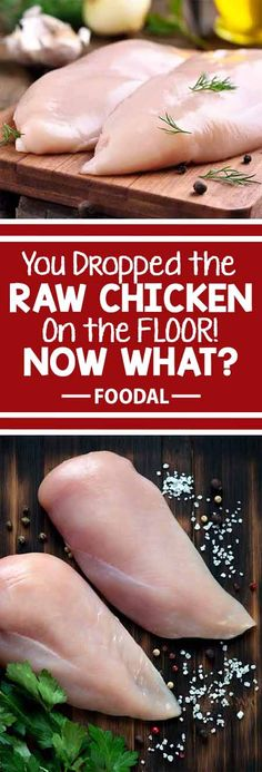 Oh, no! You just dropped raw chicken on the kitchen floor! But there's no need to panic. We have the easy solution to save your bird from this slippery situation. We'll also go over how to clean up the mess, and how to prevent it from happening again. Chicken is still on the menu for tonight's dinner! Read more now on Foodal.: http://foodal.com/knowledge/how-to/dropped-raw-chicken/
