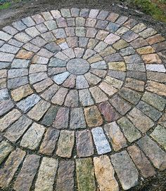 Image result for garden flooring stones