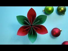 weihnachten basteln: weihnachtsdeko selber machen mit papier. diy, Innenarchitektur ideen