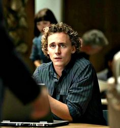 Tom Hiddleston in Wallander. That is pretty much 'the' Magnus look. Bit of chillin' out, bit of cogitating, mostly 'what the hell, Kurt'.