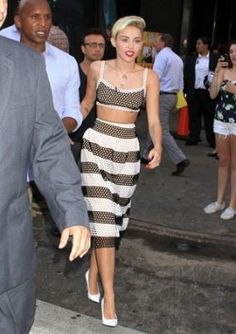 Miley Cyrus's Cute Summer Style