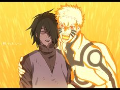 Sasuke and Naruto in Boruto the movie Sasunaru, Boruto, Narusasu, Sasuhina, Naruto And Sasuke, Anime Naruto, Naruto Cute, Naruto Shippuden Sasuke, Kakashi