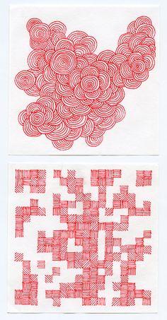 Doodle Patterns, Zentangle Patterns, Zentangle Drawings, Art Drawings, Zentangles, Arte Sketchbook, Pen Art, Pattern Art, Doodle Art