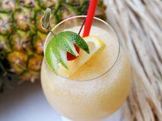 Scorpion With Fresh Orange Juice, Fresh Lemon Juice, Orgeat Syrup, Rum, Brandy, Crushed Ice
