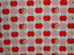 "Bio-Interlock ""An apple a day"" rot von PinkPeppa auf DaWanda.com"
