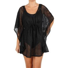 Catalina Women's Cinched Front Swim Cover-Up Tunic
