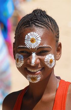Young woman from Madagascar <3