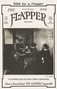 A magazine that reflects the lifestyle of being a flapper and teaches women about the ways of being a flapper.
