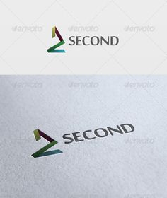 Second  Logo Design Template Vector #logotype Download it here: http://graphicriver.net/item/second-logo/2628108?s_rank=52?ref=nexion
