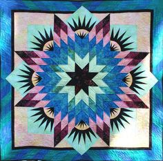 Summer Solstice ~ Quiltworx.com, made by Certified Instructor, Ginny Radloff