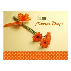 Happy Nurses Day. Colorful Daisies Nurses Day Postcards for nurses. Matching cards, postage stamps and other products available in the Business Related Holidays / Nurses Day Category of the artofmairin store at zazzle.com