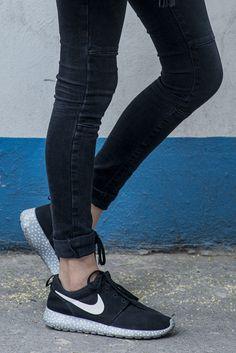 Jeans negros con tenis nike Tenis Negras 3d5447e8e27e9