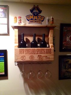 Laser ENGRAVED 4 Bottle WINE CADDY by TheWinePallet on Etsy, $89.00