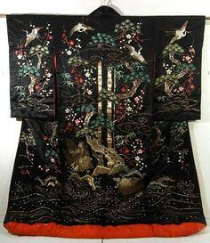 Japanese Costume, Japanese Kimono, Yukata, Kabuki Costume, Japanese Wedding, Nihon, Hanfu, Geisha, Art Designs