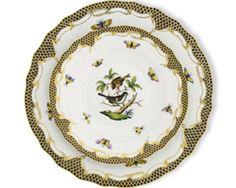 My china pattern! Mix and match herend and royal crown derby . Herend China, Royal Crown Derby, Tabletop, China Patterns, China Dinnerware, Fine China, Cottage Style, Rothschild, Decorative Plates