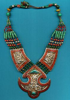Contemporary Tibetan necklace |