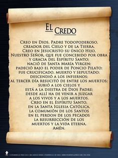 Spanish The Lord's Prayer Poster - Catholic to the Max - Online Catholic Store Hail Mary In Spanish, Pray In Spanish, Catholic Prayers In Spanish, Prayer For Peace, Faith Prayer, God Prayer, Rosary Prayer, English Prayer, Easter Prayers
