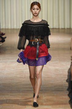Alberta Ferretti  #VogueRussia #readytowear #rtw #springsummer2017 #AlbertaFerretti #VogueCollections