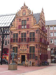 Goudkantoor in Groningen, the Netherlands, built in 1635                                                                                                                                                     More