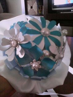 Diy bouquet broches pequeño.terminado.(frente 1)