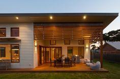 Skillion roof, outdoor entertaining area, Duncan Pascoe Builders, Mike Higgins Building Design
