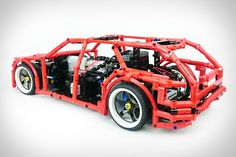 lego technic 8070 b model hot rod my lego technic. Black Bedroom Furniture Sets. Home Design Ideas