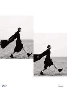 the new puritan: josefien rodermans and luke powell by aitken jolly for uk elle november 2014