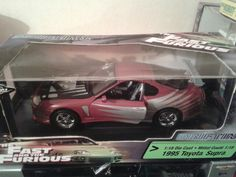 Fast and Furious 1/18 scale Toyota supra by Ertl/Joyride.