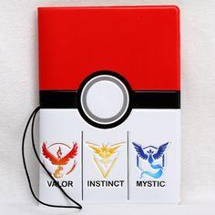 Pokemon Cartoon Passport Holder Cover - Identity Document Folder Trave – Superhero Universe