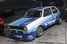 VW MK1 Golf Race Car, Gti Motorsort