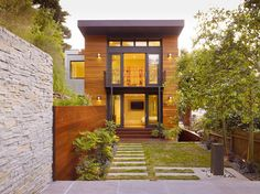 Cole Street Project - contemporary - exterior - san francisco - Design Line Construction, Inc.