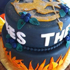 Our Hunger Games Cake