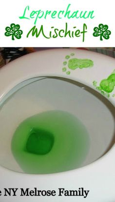 A little Leprechaun Mischief never hurt anyone.  It's the perfect easy tradition to begin at your house.