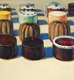 French Pastries - Wayne Thiebaud