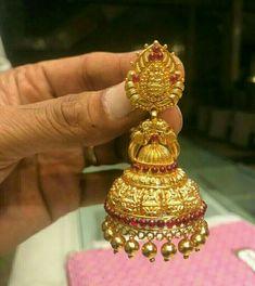 1 Gram Gold Jewellery, Temple Jewellery, Gold Jewelry, Jewelery, Gold Bridal Earrings, Gold Earrings Designs, Gold Necklace, Buy Earrings, Jewellery Earrings