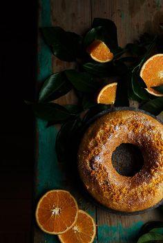 Orange cake by Raquel Carmona