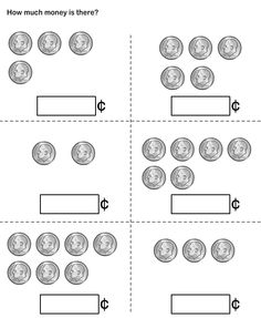 math worksheet : 1000 images about alexandria s learning worksheets on pinterest  : Kindergarten Coin Worksheets