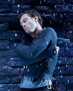 jude law as hamlet.  our seats were spitting distance.  i loved his interpretation.