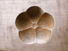 Vintage Japanese Kashigata Sweets Mold Plum by VintageFromJapan,