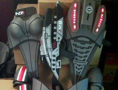 Halloween Costume Overkill: Mass Effect N7 Armor - IGN