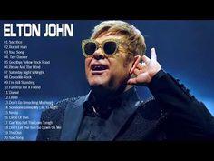 Elton John Best Songs - Elton John Greatest Hits full album - Best Rock Ballads 80's, 90's - YouTube Elton John Songs, Crocodile Rock, Yellow Brick Road, Tiny Dancer, Best Rock, Still Standing, Best Songs, My Favorite Music, Greatest Hits