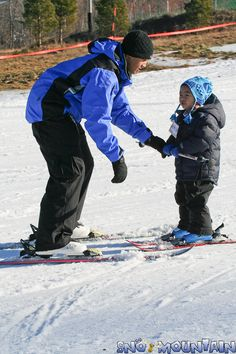 Sno Mountain has lessons for all ages and abilities.