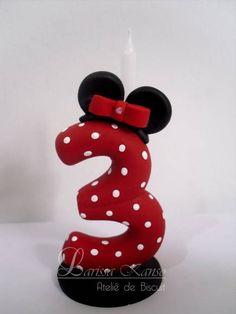 Vela Minnie - por Larissa Kanso www.facebook.com/larissakansoatelie