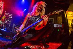 Nita Strauss at the We Start Wars debut show at the Whisky A Go-Go!!! by Jack Lue, 2017.