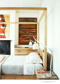 Mark Tuckey timber rustic modern timber furniture in bedroom