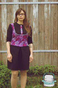 "Kleid ""Masha"" genäht von Radiokopf: http://www.kreativlaborberlin.de/naehanleitungen-schnittmuster/kleid-shirt-masha/"